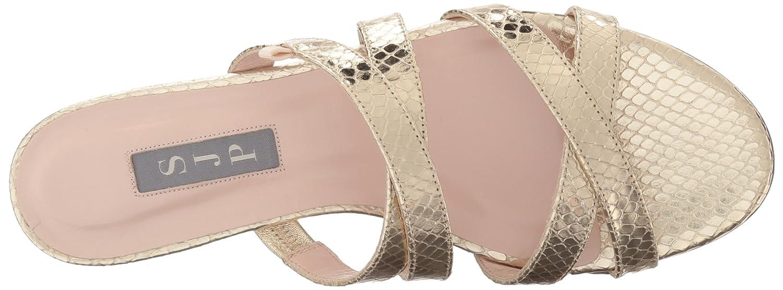 SJP by Sarah Jessica Parker Women's Weekend Dress Sandal B01MDULM09 39.5 EU/9 B US|Soft Platino