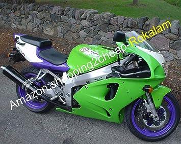 Amazon.com: Fairings For Kawasaki NINJA ZX7R ZX-7R 96-03 ZX ...