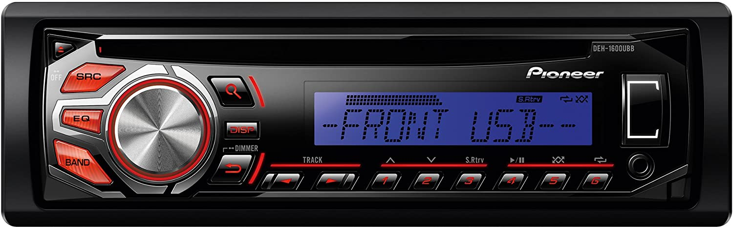 Pioneer deh 1600ubb rds tuner with illuminated front usb aux in and pioneer deh 1600ubb rds tuner with illuminated front usb aux in and wmamp3wav playback amazon electronics publicscrutiny Images