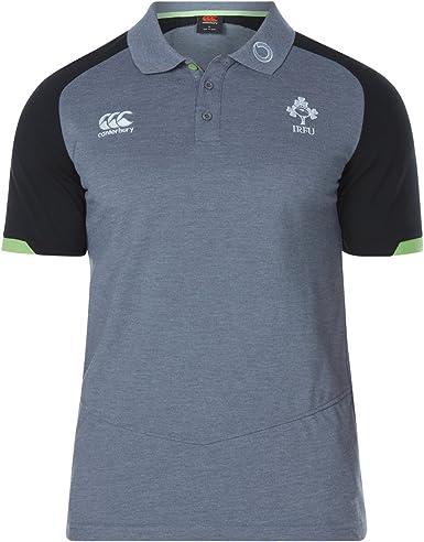 Oficial IRFU Rugby Irlanda Vapodri algodón piqué Polo Camiseta de ...