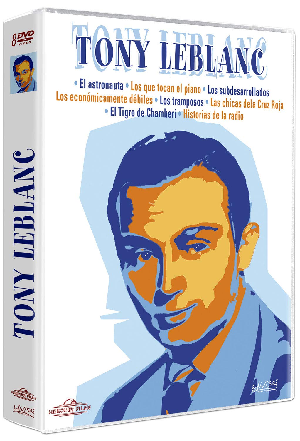 Tony Leblanc [DVD]: Amazon.es: Tony Leblanc, Francisco Rabal, Concha Velasco, José Luis López Vázquez, Alfredo Landa, Varios, Tony Leblanc, Francisco Rabal: Cine y Series TV