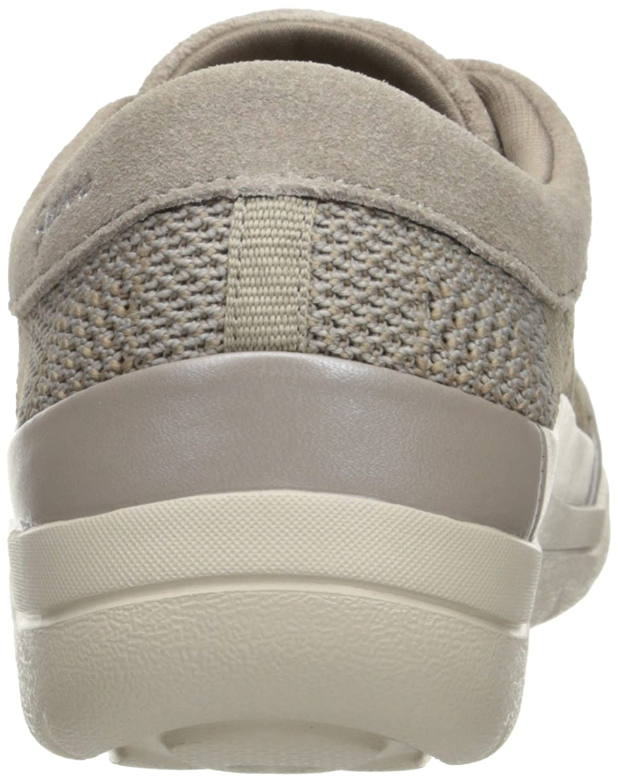 Skechers Lite Step-Reactive, Zapatillas para Mujer, Beige (Dktp), 41 EU