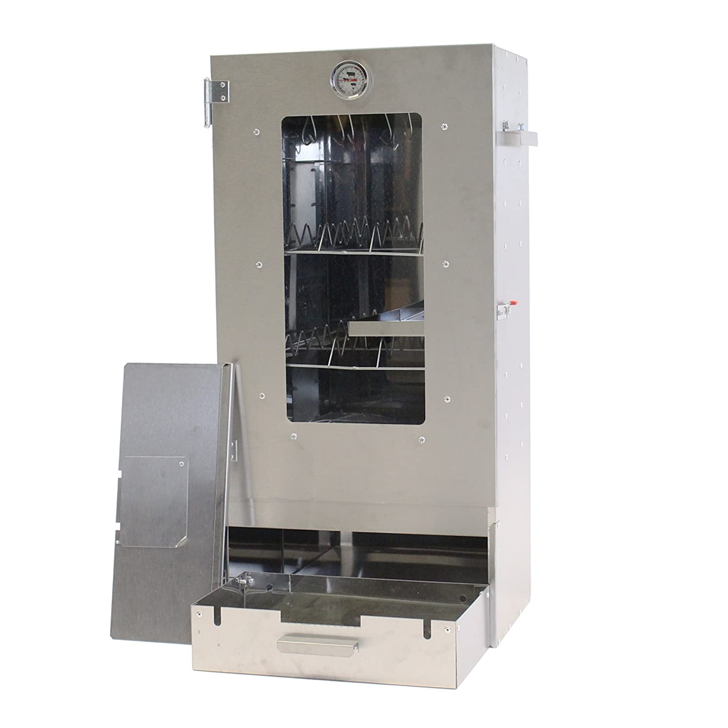 Smoker XL Free Shipping Smoking oven with 3 floors and thermometer