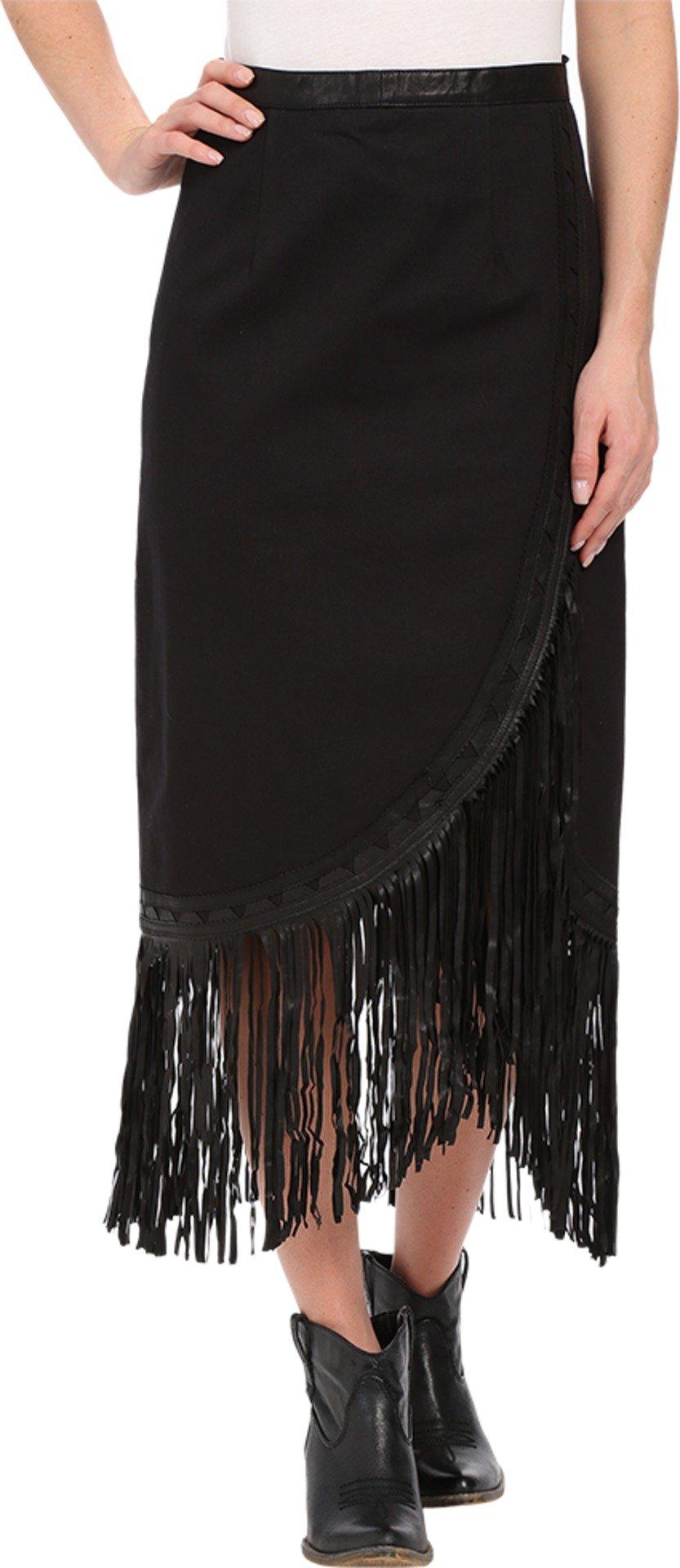 Tasha Polizzi Women's Trail Skirt Black Skirt MD by Tasha Polizzi (Image #1)