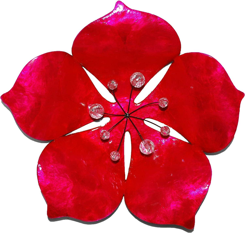 Eangee Home Design Flower Wall Decor Pink (m6002 k)