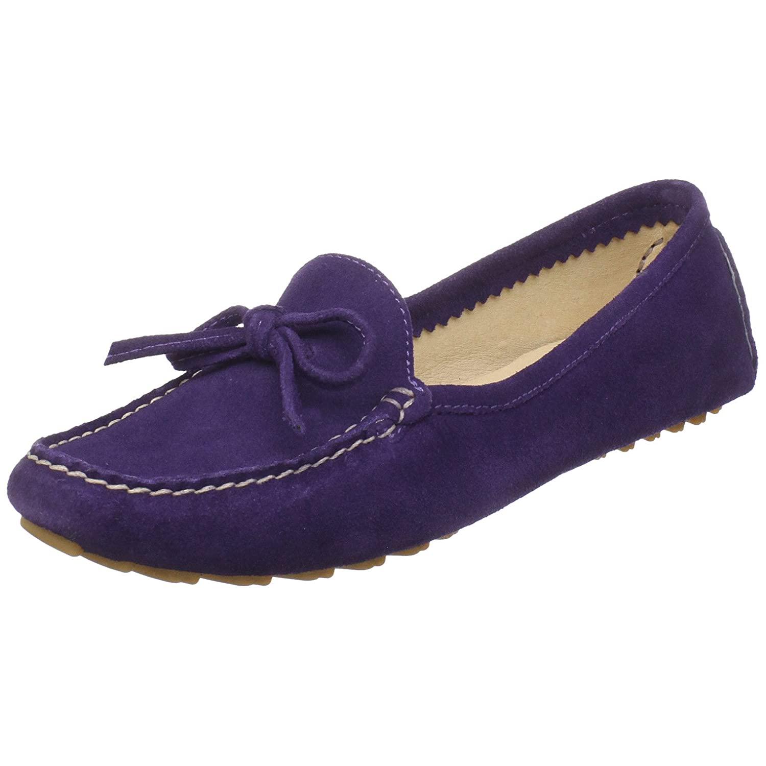 Amazon.com | Amiana Womens 15-A0642 Moccasin, Purple, 6 M US | Loafers & Slip-Ons