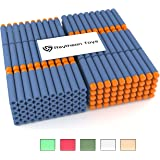 300-Pieces Set, Nerf Compatible Foam Toy Darts By Ray Squad, Premium Refill Bullets For N-Strike Guns, Universal Mega Pack, Firm and Safe Nerf Compatible Accessories
