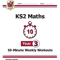 New KS2 Maths 10-Minute Weekly Workouts - Year 3 (CGP KS2 Maths)