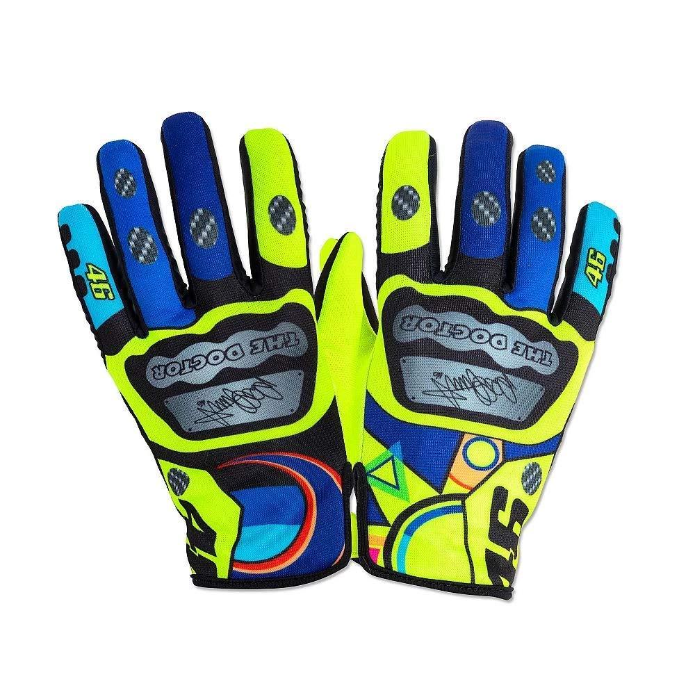 Valentino Rossi Vrugv313503002 Azul Guantes Vr46 Unisex Adulto M