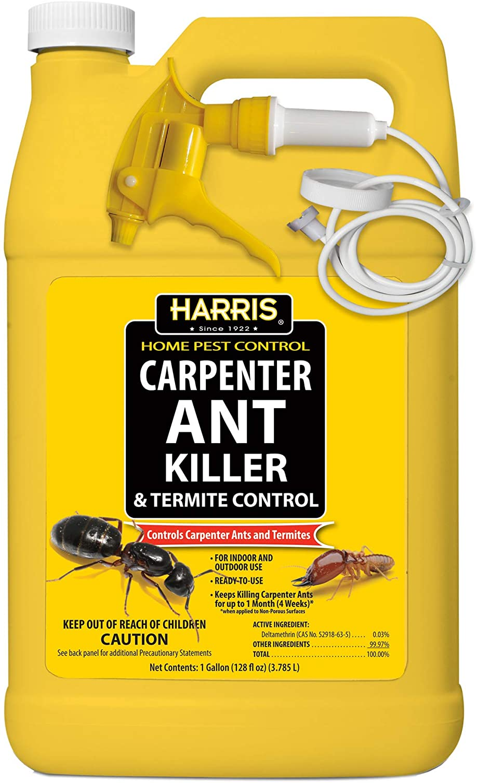 Harris Carpenter Ant Killer & Termite Control Treatment, 128oz Spray