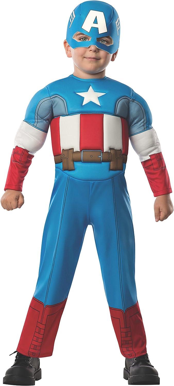 Amazon Com Rubie S Marvel Super Hero Adventure S Muscle Chest Costume Captain America Toddler Clothing Captain marvel suit carol danvers cosplay costume sources: rubie s marvel super hero adventures toddler muscle chest costume