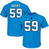 7a88a23fd Majestic Luke Kuechly Carolina Panthers Blue Big   Tall Name and Number T- Shirt