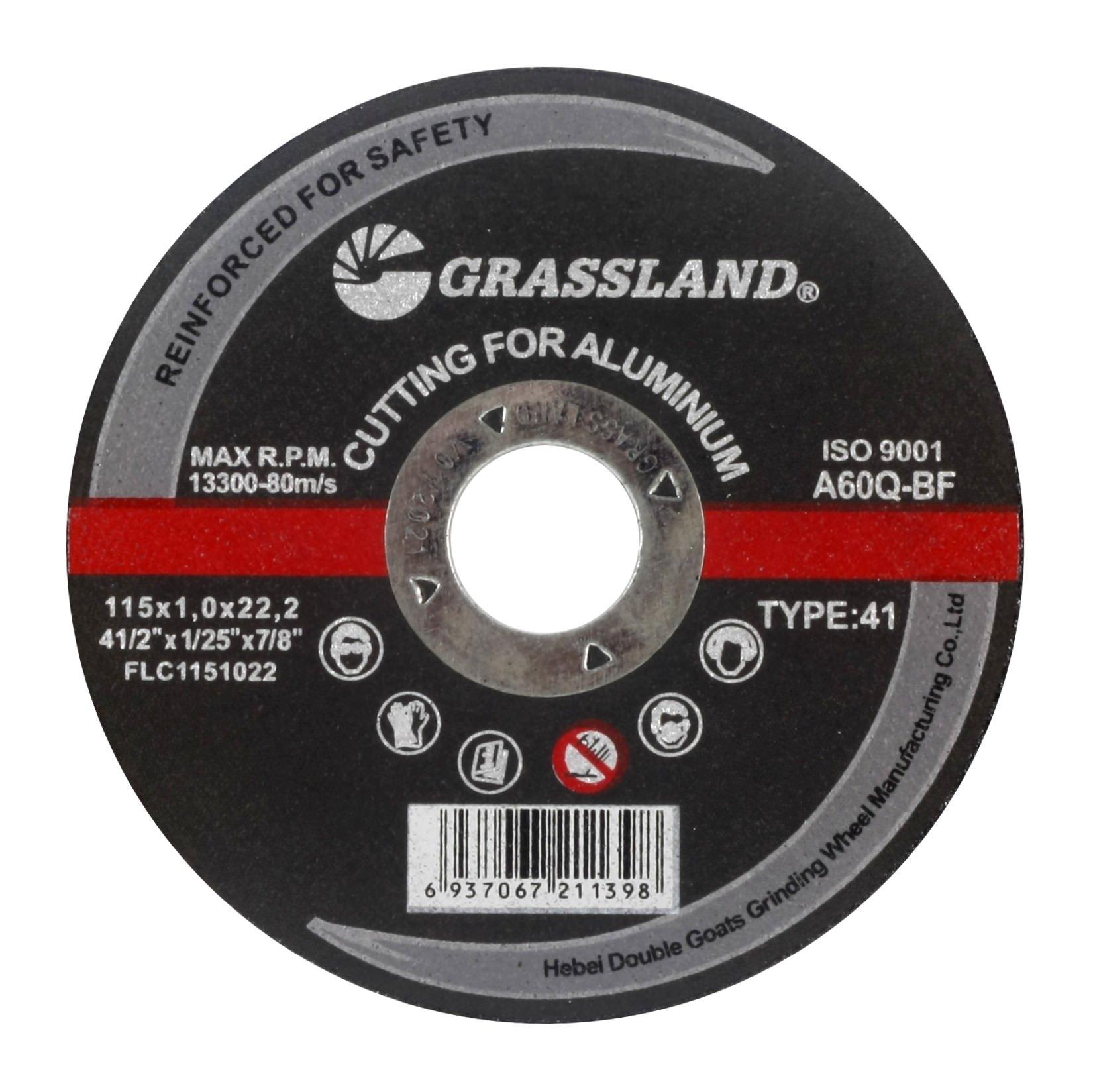 Cutting Disc, Aluminum Freehand Cut-off wheel - 4-1/2'' x 0.04'' x 7/8'' - T41 - (10 PACK)