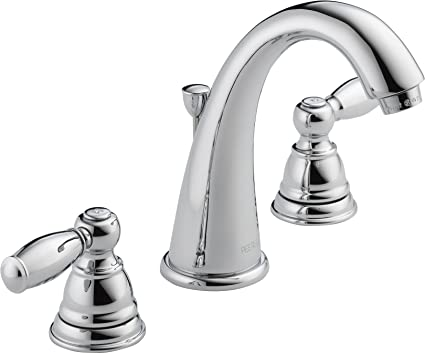 Peerless Claymore Widespread Bathroom Faucet Chrome Bathroom Faucet 3 Hole Bathroom Sink Faucet Drain Assembly Chrome P299196lf Touch On Bathroom Sink Faucets Amazon Com