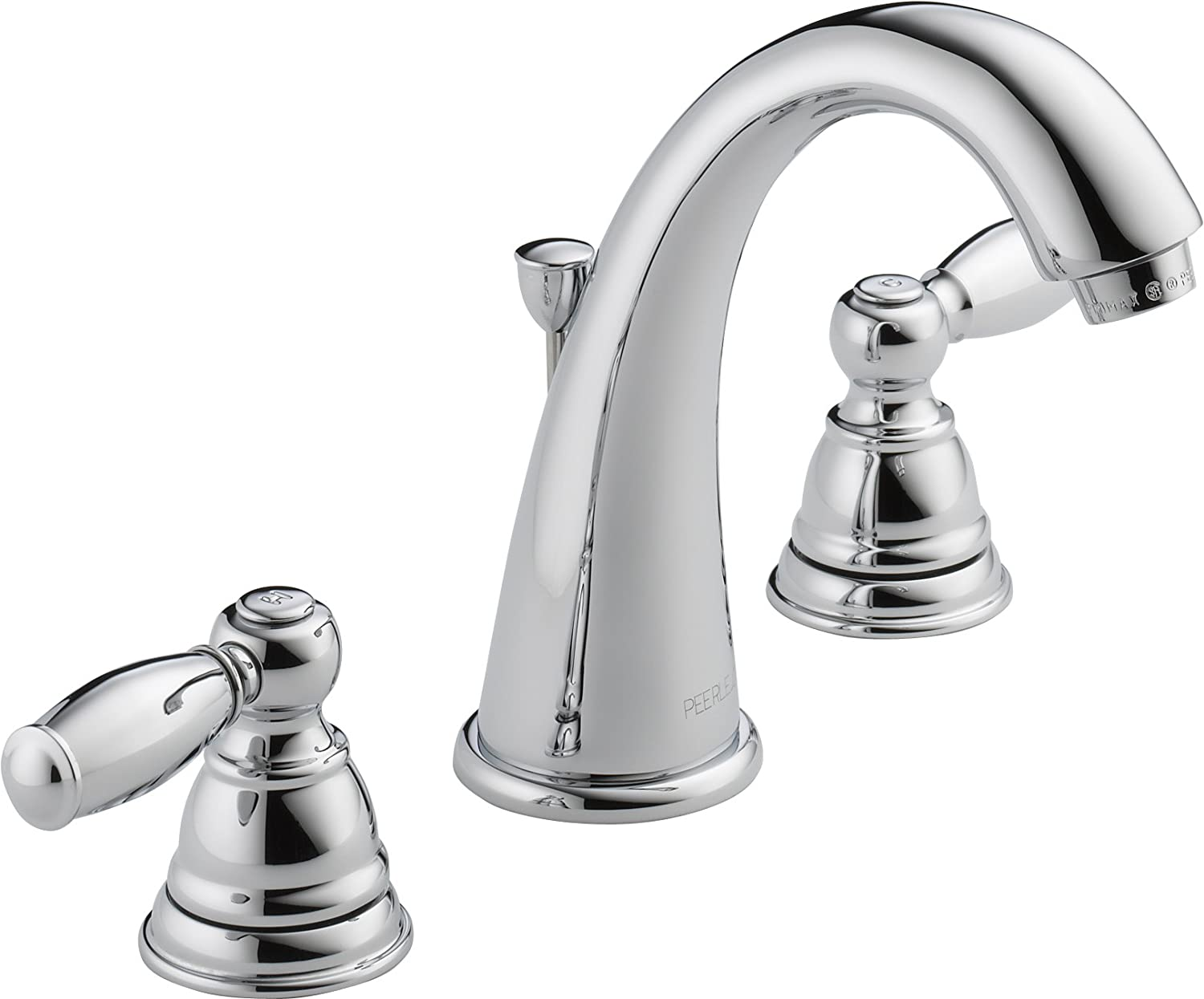 Peerless P299196LF Apex Two Handle Bathroom Faucet, Chrome - Touch ...