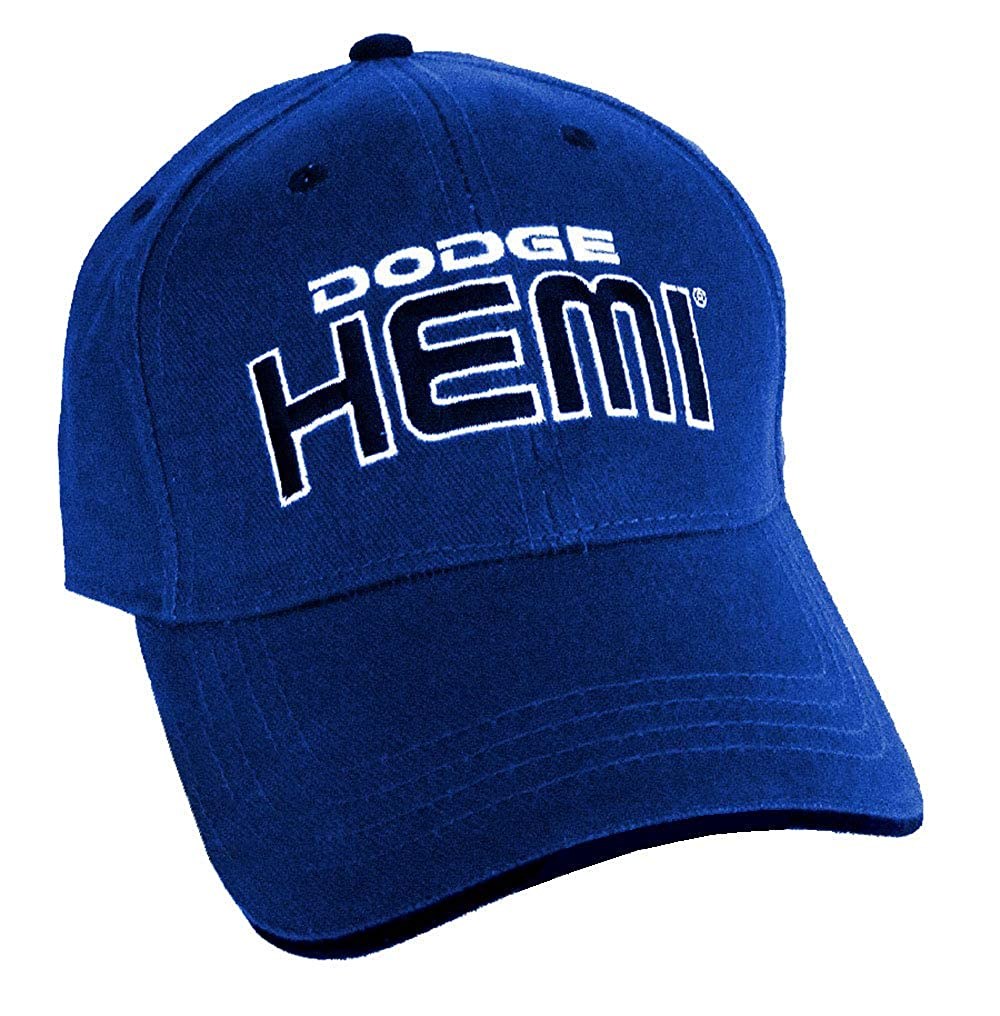 Gregs Automotive Dodge HEMI Hat Blue Bundle with Driving Style Decal