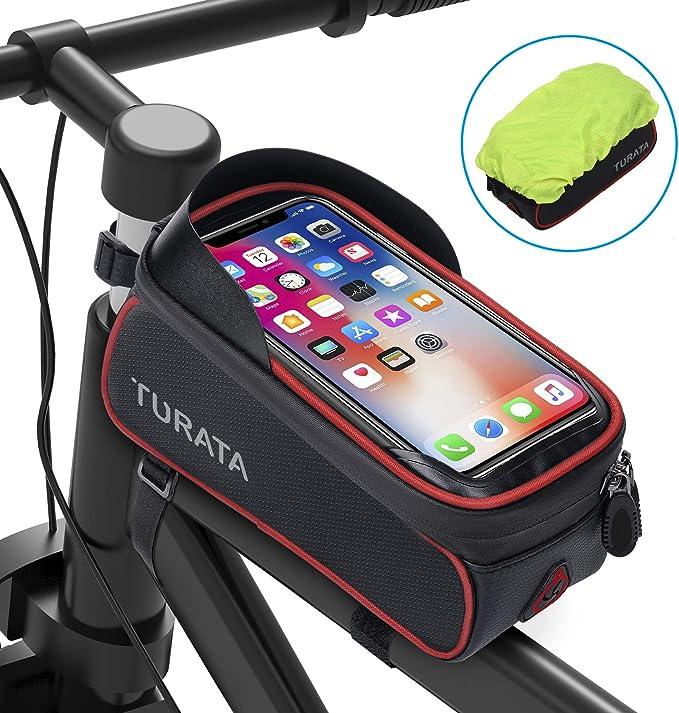 TURATA Bolsas de Bicicleta, Bolsa Impermeable para Bicicleta ...