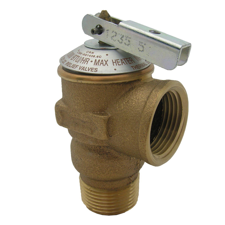 LASCO 05-1713 150 PSI Pressure Relief Valve with 3/4-Inch Pipe Thread