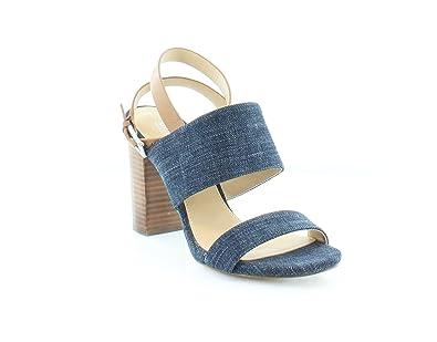 a9f9cf105aeaa Michael Kors Arden Sandal Women s Sandals   Flip Flops Indigo Acorn Size ...