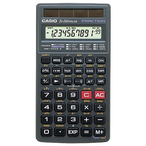 Casio scientific calculator (fx260slrsc): amazon. In: office products.