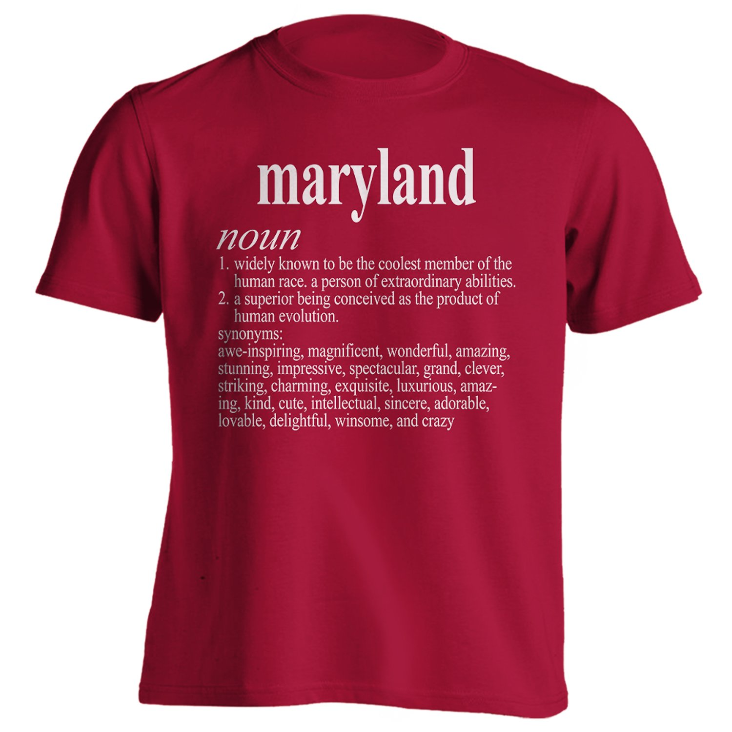 Vintage Style Maryland Funny First Name Definition Adult T-Shirt