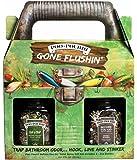 "Poo-Pourri ""Before you Go"" Toilet Spray Premium Set In Tackle Box,""GONE FLUSHIN"" Plus Bonus Hand Sanitizer Spray and Tissue Pack"