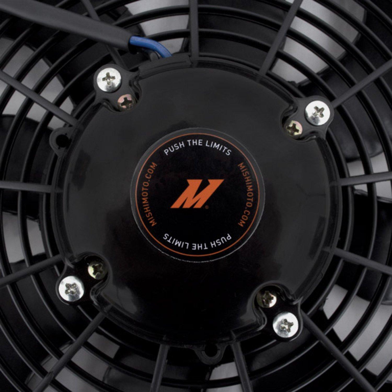 High-Flow Fan Mishimoto Race Line 16 Black 16 Black MMFAN-16HD