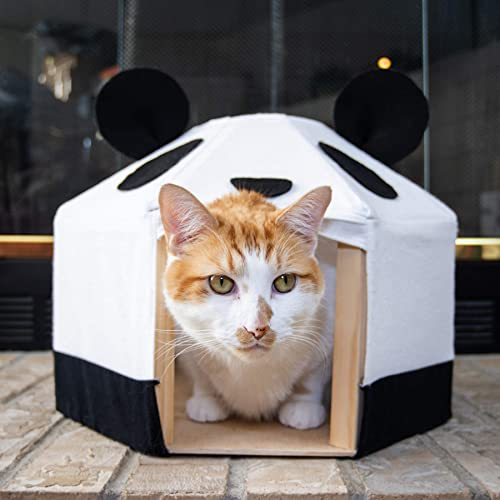 Amazon Com Handmade Pet Yurt Panda Pet Tent For Cats Rabbits And Small Dogs Handmade Yurts are available at lums pond and trap pond state parks. handmade pet yurt panda pet tent