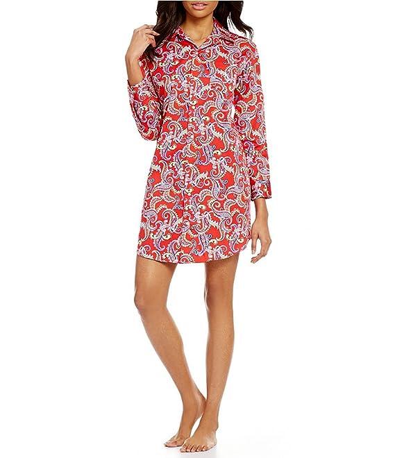 Lauren Ralph Lauren Womens Essentials Striped His Shirt at Amazon Women s  Clothing store  2c48b8086
