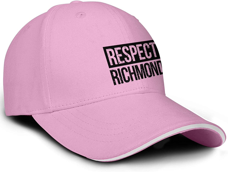 TylerLiu Baseball Cap Virginia Respect Richmond Snapbacks Truker Hats Unisex Adjustable Fashion Cap