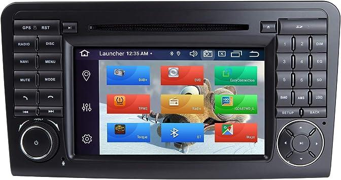 Zltoopai Auto Multimedia Player Für Mercedes Benz Gl Ml Class W164 X164 Ml350 Ml450 Ml500 Gl320 Gl450 Android 10 Octa Core 4g Ram 64g Rom 7 Double Din Auto Radio Audio Stereo Gps Navigation Navigation