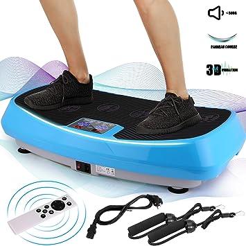 ANCHEER Zubehoer Fuer Vibrationsplatte Fitness Ganzk/örper Trainingsger/ät Home Vibrationsger/ät Vibration Plate