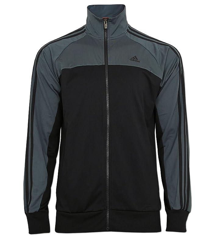 adidas Jacke Ess 3S Light Tracktop Climalite Trainingsjacke (schwarz-grau,  XS)  Amazon.de  Sport   Freizeit e55961cb1b