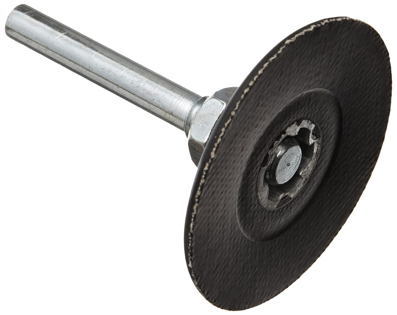 Merit Abrasotex Quick-Change Abrasive Disc Holder, Type I, 2' Diameter, 30000 rpm, Grit Medium (Pack of 1) 2 Diameter St. Gobain Abrasives 08834164004