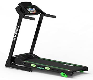 91bf62bc3f Buy Kobo TM-252 Steel 2.5 H.P A.C Treadmill (Black) Online at Low ...
