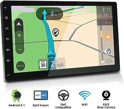 """10.1/"""" Android 8.1 Octa Core Single//Double DIN GPS Nav Car Stereo Radio 2+32GB"""