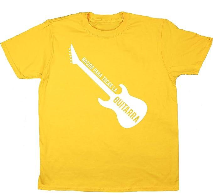 HippoWarehouse Nacido Para Tocar La Guitarra (Eléctrica) camiseta manga corta niños niñas unisex: Amazon.es: Ropa y accesorios