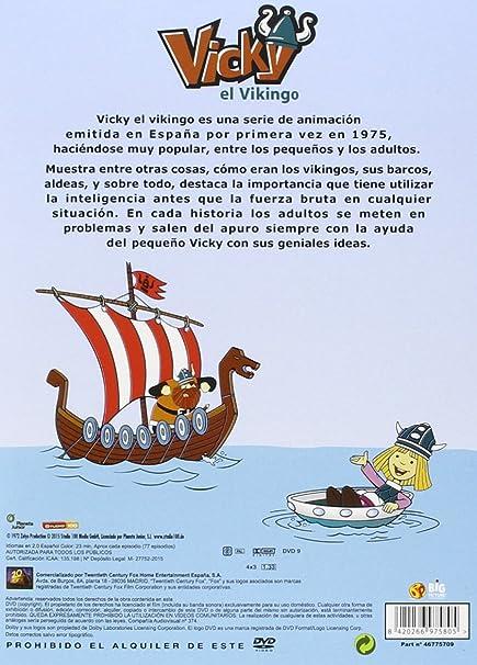 Vicky El Vikingo - Serie Clasica Volumenes 1 Al 8 DVD: Amazon.es ...