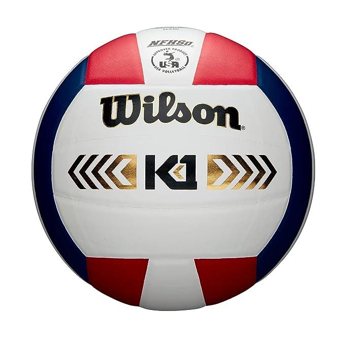 Wilson WTH1895A1XB Pelota de Voleibol K1 Gold Cuero Interior ...