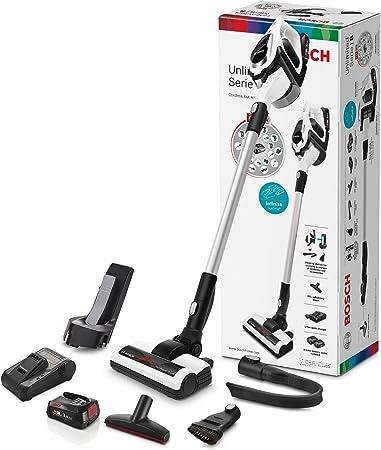 Bosch Unlimited Serie|8 Aspirador sin Cables, Plastic, 2 Velocidades, Bianco: Amazon.es: Hogar