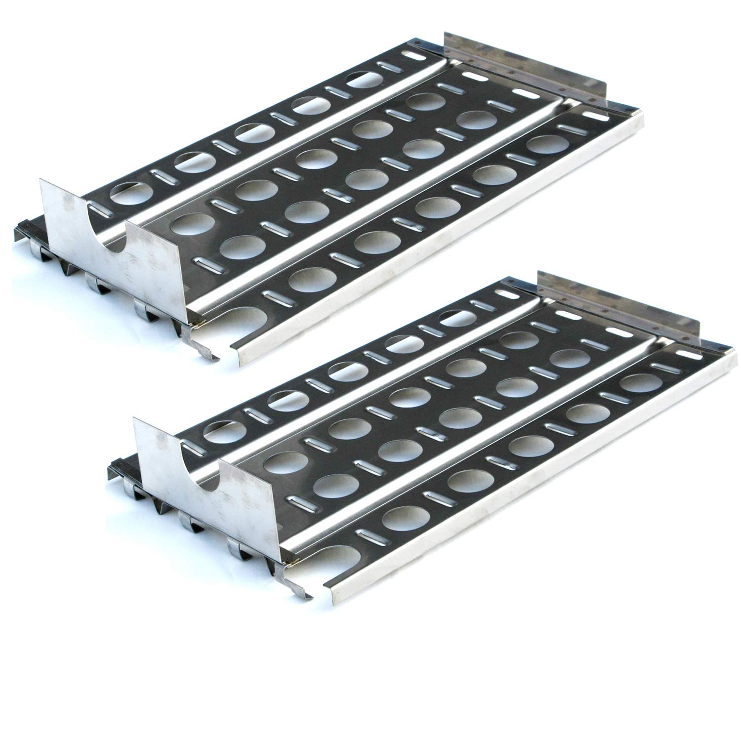 Direct store Parts DP114 (2-pack) Stainless Steel Heat plates Replacement Lynx Gas Grill Models (2) by Direct store (Image #1)
