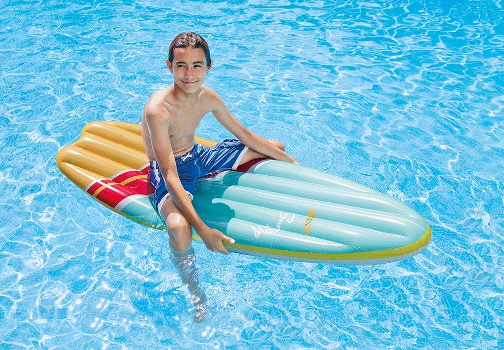 Intex - Tabla de surf hinchable Intex fibertech - 178x69 cm - 58152EU, 1 unidad: Amazon.es: Juguetes y juegos