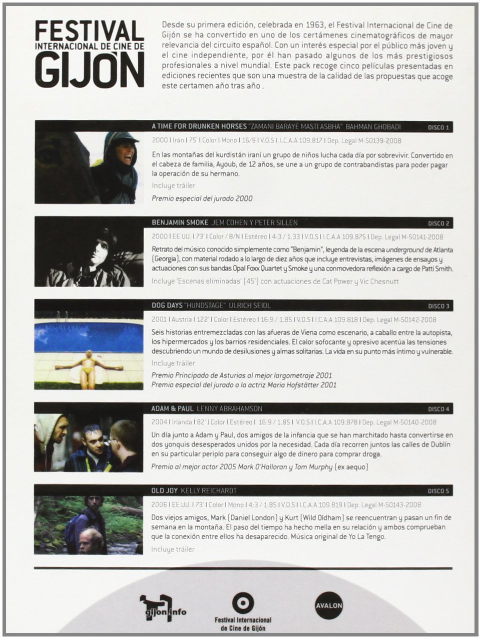 Amazon.com: Pack Festival Internacional De Gijon (Import Movie) (European Format - Zone 2) (2009) Varios: Movies & TV