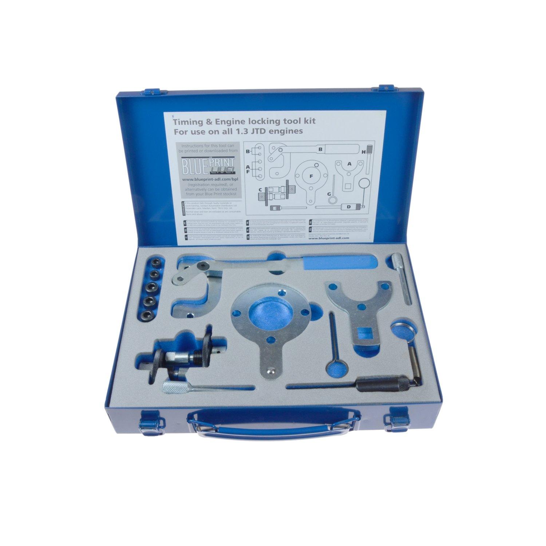 Blue print adk85501 timing engine locking tool ki pack of 1 blue print adk85501 timing engine locking tool ki pack of 1 amazon uk car motorbike malvernweather Choice Image