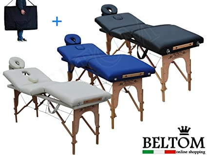 Lettino Massaggio Roma.Beltom Lettino Massaggio 4 Zone Legno Lettini Per Da Massaggi Pieghevoli Gran Lusso Fisioterapia Fisioterapista Tattoo Tatuaggi Relax Panna