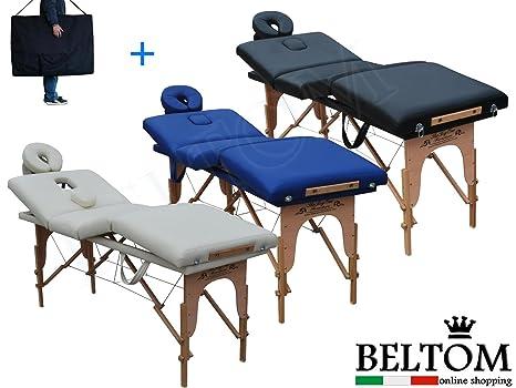 Beltom Lettino Massaggio 4 Zone Legno Lettini Per Da Massaggi