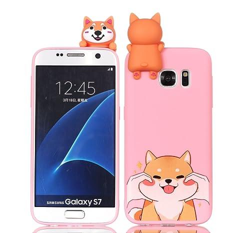 Amazon.com: Yobby - Carcasa para Samsung Galaxy S7/S7 Edge ...