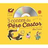 3 contes du Père Castor à écouter dès 3 ans : Roule Galette ; Poule Rousse ; La plus mignonne des petites souris (1CD audio)