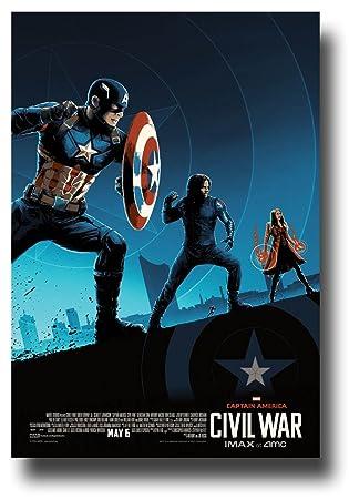 amazon captain america civil warポスター imax amc movie theatre
