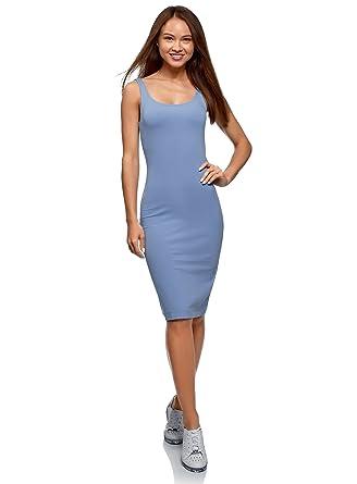 079124a5d850 oodji Ultra Femme Robe Débardeur (Lot de 2)  Amazon.fr  Vêtements et ...